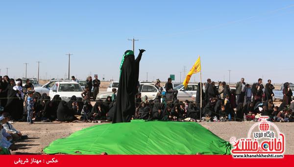 تعزیه هیئت علمدار کربلا در روستای ناصریه رفسنجان19