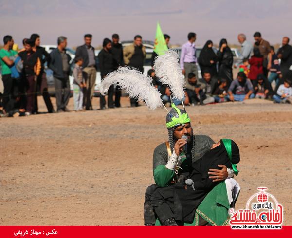 تعزیه هیئت علمدار کربلا در روستای ناصریه رفسنجان21