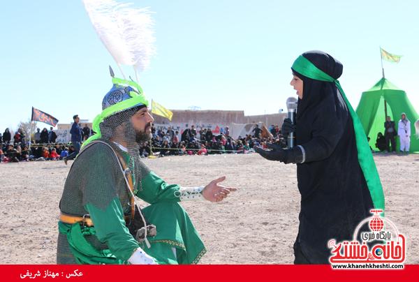 تعزیه هیئت علمدار کربلا در روستای ناصریه رفسنجان22