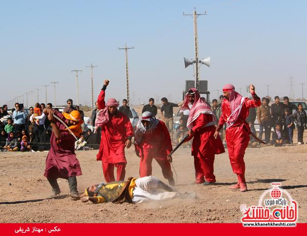 تعزیه هیئت علمدار کربلا در روستای ناصریه رفسنجان6