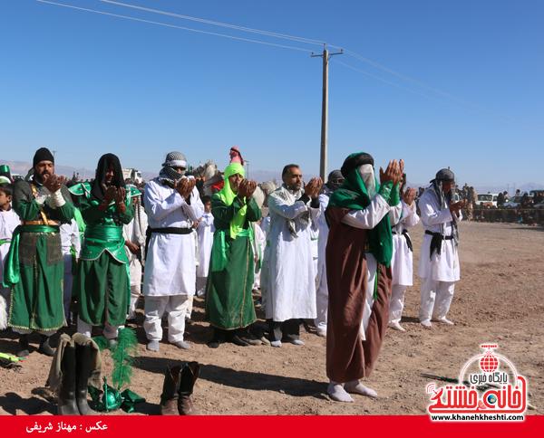 تعزیه هیئت علمدار کربلا در روستای ناصریه رفسنجان8