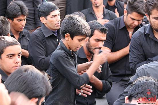 دسته های عزای حسینی در سقاخانه علقمه(دوراهی سرچشمه) (32)