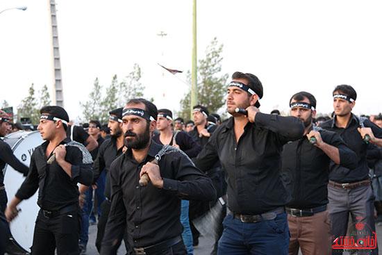 دسته های عزای حسینی در سقاخانه علقمه(دوراهی سرچشمه) (36)