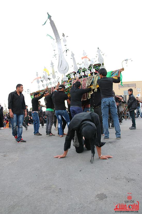 دسته های عزای حسینی در سقاخانه علقمه(دوراهی سرچشمه) (40)