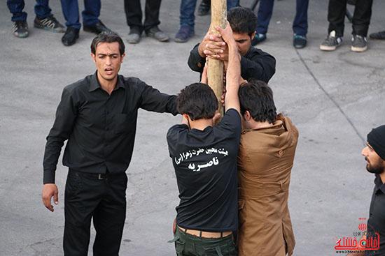 دسته های عزای حسینی در سقاخانه علقمه(دوراهی سرچشمه) (9)