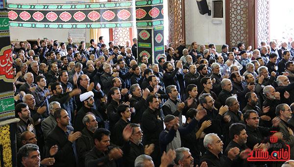 اجتماع عاشوراییان رفسنجان فریاد «هیهات منا الذله» سر دادند