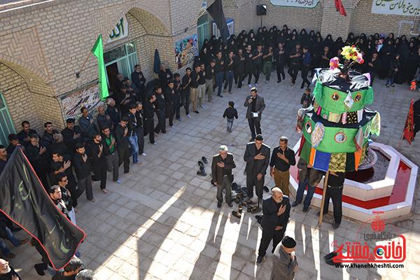 عزاداری ابا عبدالله الحسین در روستای هرمز آباد رفسنجان7