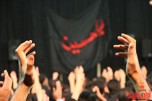 دوربین خانه خشتی در عزاداری شب تاسوعا رفسنجان