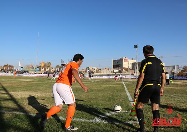 مسابقات فوتبال مس رفسنجان با رسانه ورزش1