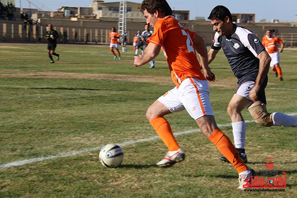 مسابقات فوتبال مس رفسنجان با رسانه ورزش12
