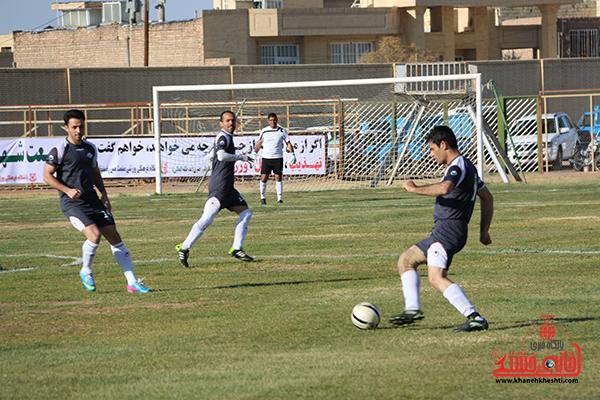 مسابقات فوتبال مس رفسنجان با رسانه ورزش13