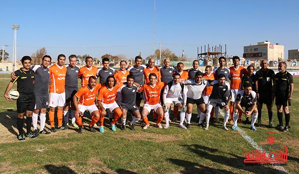 مسابقات فوتبال مس رفسنجان با رسانه ورزش16