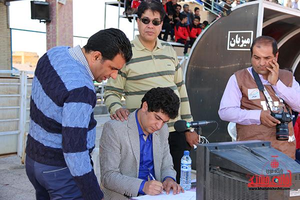 مسابقات فوتبال مس رفسنجان با رسانه ورزش21