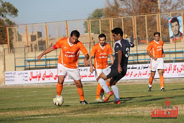 مسابقات فوتبال مس رفسنجان با رسانه ورزش22