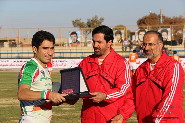 مسابقات فوتبال مس رفسنجان با رسانه ورزش25