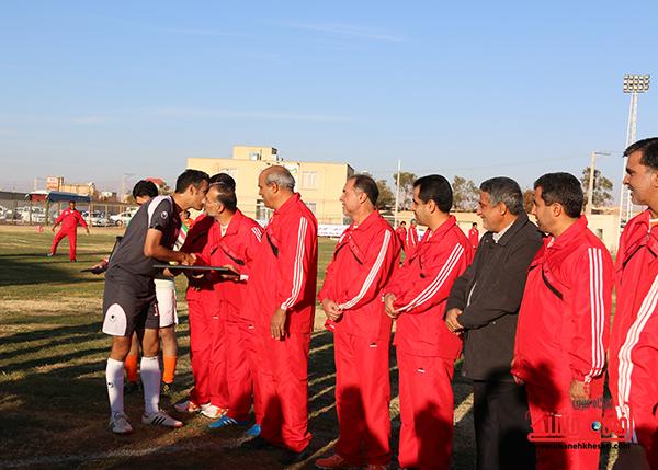 مسابقات فوتبال مس رفسنجان با رسانه ورزش26