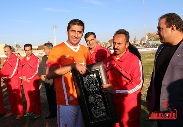 مسابقات فوتبال مس رفسنجان با رسانه ورزش29