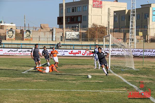 مسابقات فوتبال مس رفسنجان با رسانه ورزش3