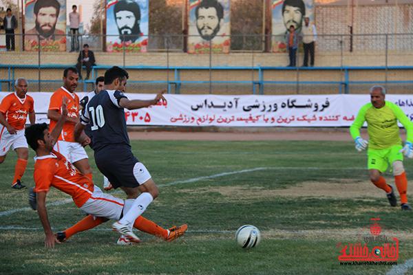 مسابقات فوتبال مس رفسنجان با رسانه ورزش41