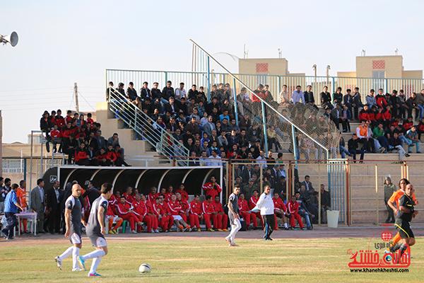 مسابقات فوتبال مس رفسنجان با رسانه ورزش8