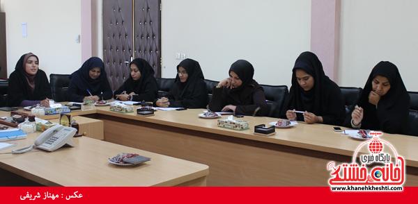 مصاحبه مطبوعاتی شهردار رفسنجان با اصحاب رسانه2