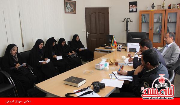 نشست خبری معاونت اجتماعی نیروی انتظامی با اصحاب رسانه رفسنجان2