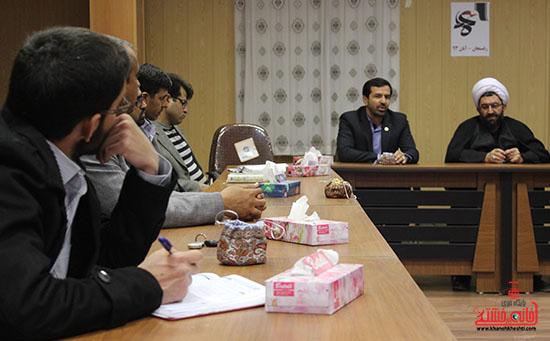 نشست ستاد جشنواره فیلم عمار در رفسنجان2