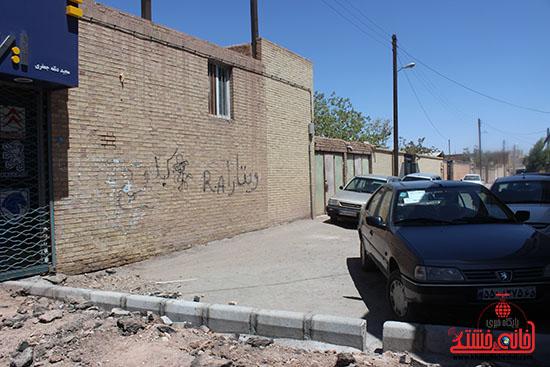 نوشته های روی دیوار خانه خشتی رفسنجان26