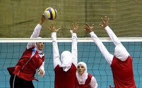 مسابقات والیبال بانوان ویژه بخش های شهرستان رفسنجان