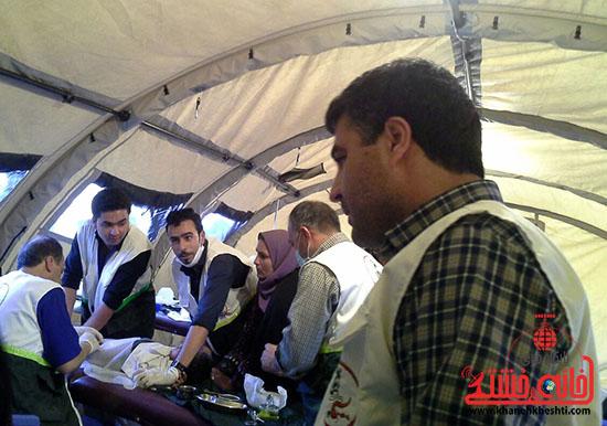بیش از دو هزار نفر از مردم فهرج توسط تیم بسیج جامعه پزشکی رفسنجان ویزیت شدند