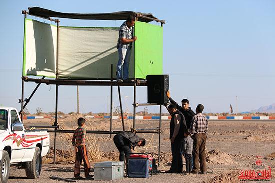 پشت صحنه تعزیه هیات علمدار کربلای رفسنجان (2)