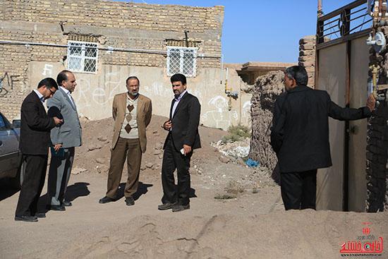 بازدید نماینده رفسنجان از منازل مددجویان تحت حمایت کمیته امداد امام(ره) + عکس