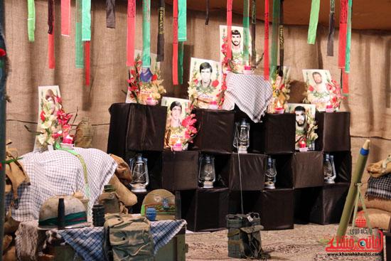 دوربین خانه خشتی در یادواره شهدای کوی شهید جهاندیده رفسنجان