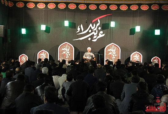 دوربین خانه خشتی در یادواره شهداء و خادمین هیئت زنجیرزنی بیت العباس رفسنجان
