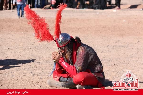 11تعزیه هیئت علمدار کربلا در روستای ناصریه رفسنجان