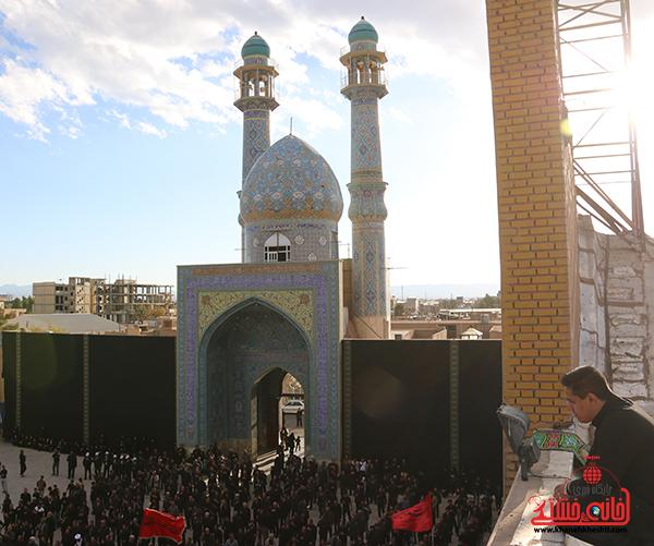 12اجتماع هیئت های عزاداری در مسجد جامع  رفسنچان