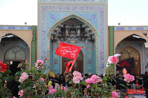 2اجتماع هیئت های عزاداری در مسجد جامع  رفسنچان