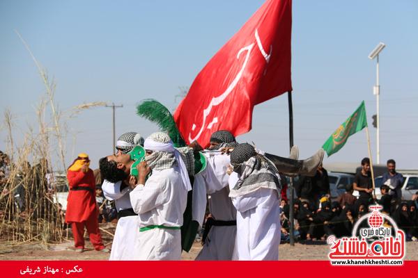 24تعزیه هیئت علمدار کربلا در روستای ناصریه رفسنجان