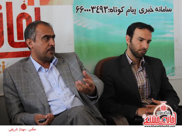 3بازدید تقوی رئیس اداره فرهنگ و ارشاد اسلامی از سایت خانه خشتی رفسنجان