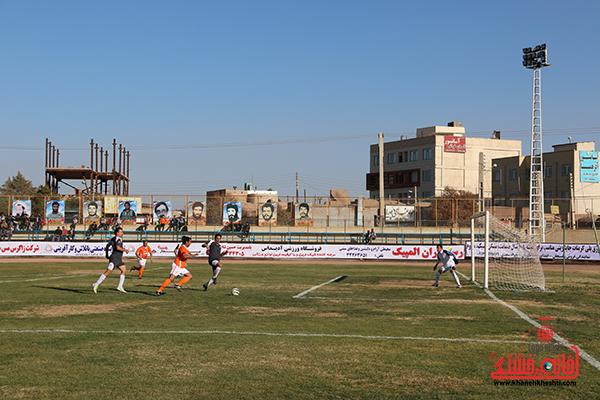 4مسابقات فوتبال مس رفسنجان با رسانه ورزش
