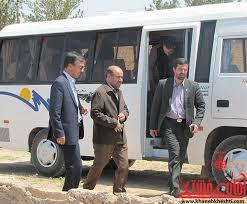فرماندار رفسنجان از پروژه های عمرانی بخش نوق بازدید کرد