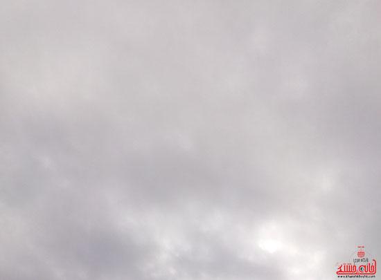 آسمان امروز رفسنجان-خانه خشتی (2)
