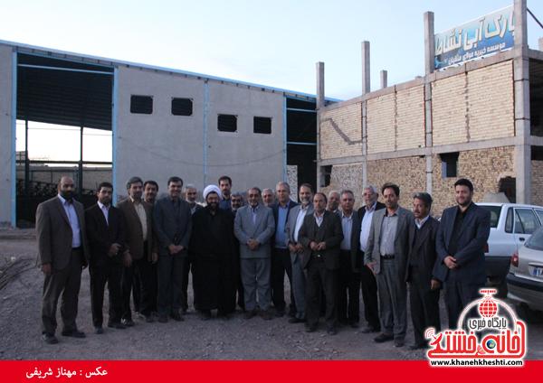 بازدید اعضای شورا و شهردار از پارک آبی نشاط رفسنجان