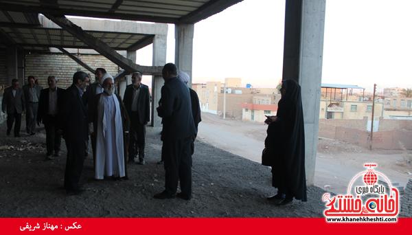 بازدید اعضای شورا و شهردار از پارک آبی نشاط رفسنجان4