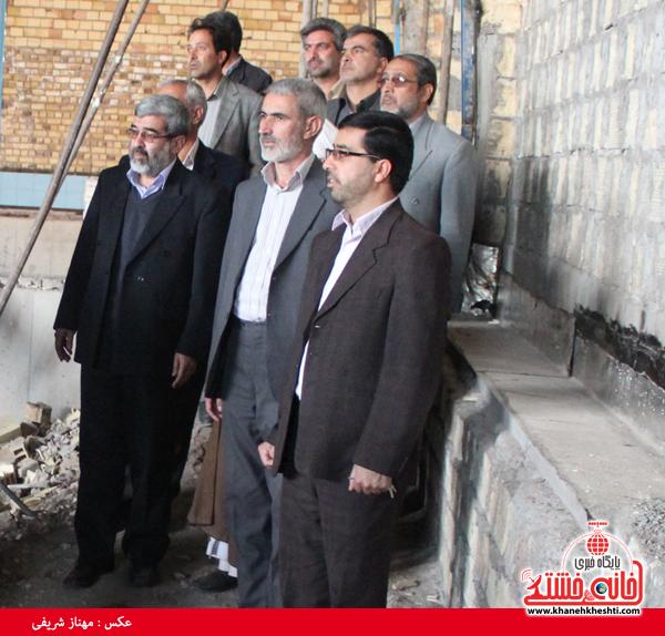 بازدید اعضای شورا و شهردار از پارک آبی نشاط رفسنجان6
