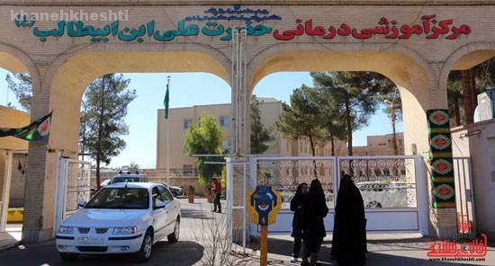 بازدید خبرنگاران خانه خشتی از بیمارستان علی بن ابیطالب(ع) رفسنجان