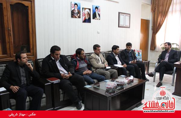 جلسه مجمع مشاوران جوان فرمانداری رفسنجان