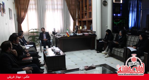 جلسه مجمع مشاوران جوان فرمانداری رفسنجان1