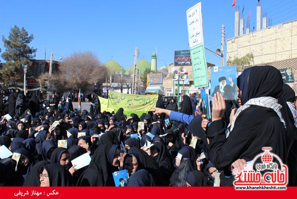 حضور مردم رفسنجان در حماسه 9 دی سال 93 (خانه خشتی)31