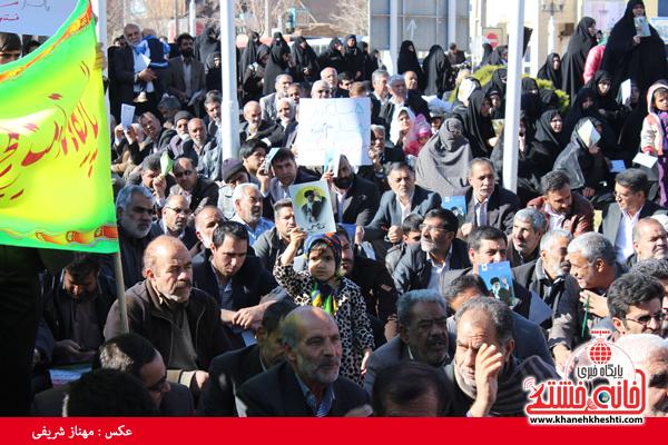 حضور مردم رفسنجان در حماسه 9 دی سال 93 (خانه خشتی)33